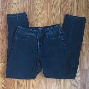 NYDJ Dark Wash Legging Jeans Sz 4